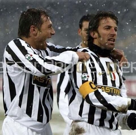 Juventus legends: Del Piero and Conte. Those were the days
