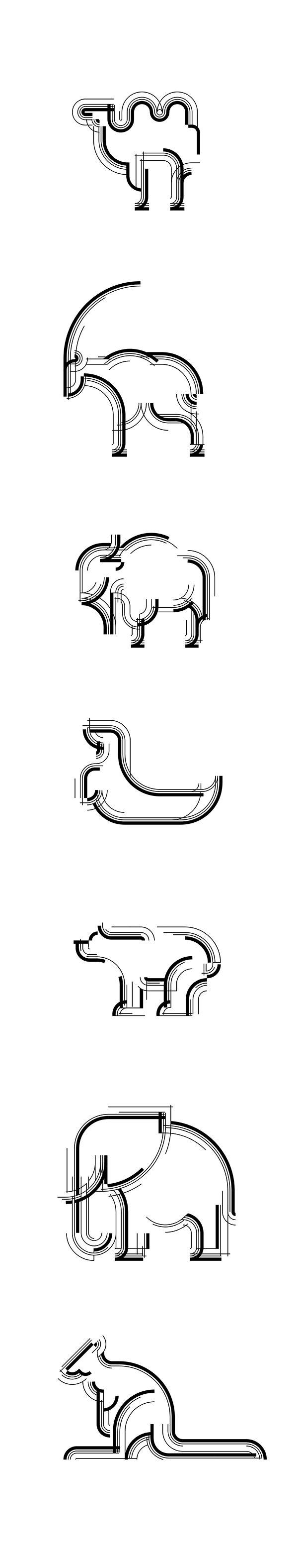 动态多形态:WARSAW ZOO 华沙动物园品牌视觉形象设计-古田路9号