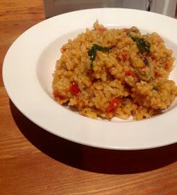 Three kids and the cook: Bacon, Tomato & Mushroom Risotto in the Thermomix