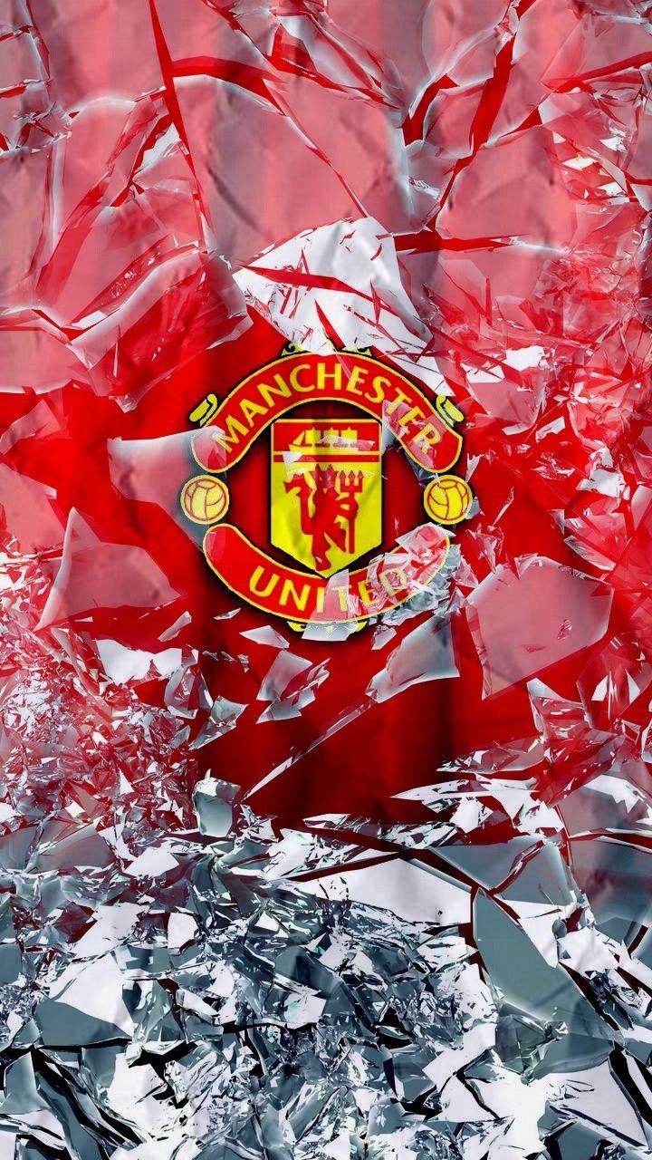 Manchester United Bola Kaki Kertas Dinding Seni