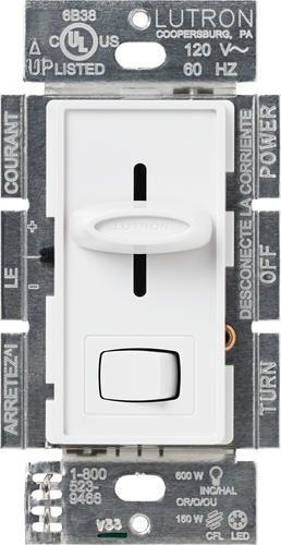 Lutron Skylark®  150-Watt 15-Amp Single-Pole/3-Way CFL/LED Dimmer