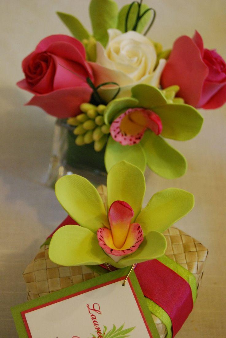 Hawaiian Weddings, Lauhala Boxes, Hawaiian Wedding Favors, Orchids ...