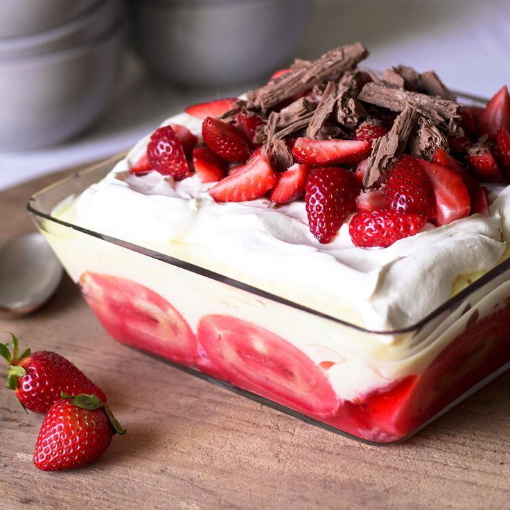 #RecipeoftheDay: It won't be long 'til you're making JannR's Strawberry Trifle every Christmas.