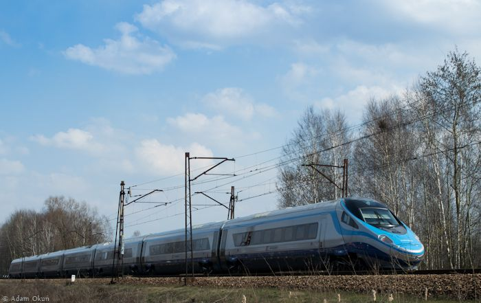 Photos of trains in Poland
