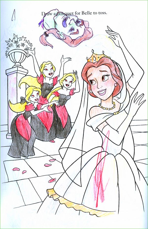 Weve All Seen Disney Fan Art But I Bet NONE Of It Is Half As Sick These Coloring Book Corruptions