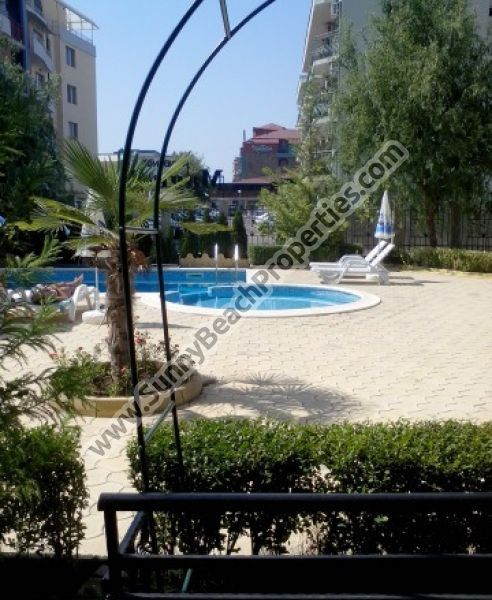 20000€ Pool view furnished studio apartment for sale in Magnolia Residence, 500m. from the beach in Sunny beach resort, Bulgaria - Sunnybeach Properties - Real Estates in Bulgaria. Apartments, Villas, Houses, Land in Sunny Beach, Nesebar, Ravda ...