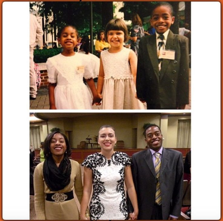 I love this! Still friends after 17 years! From Northern Virginia. Kenetha, Shelby & Trovelt. Original pic taken at a District Convention in Richmond in 1997, with the last photo taken this weekend at...