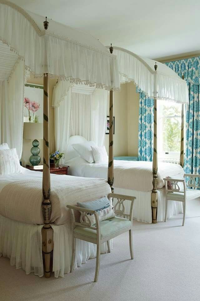 Loved having a canopy bed as a girl.