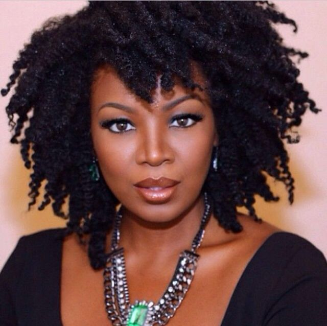 156 Best Natural Hair Celebrities Images On Pinterest African