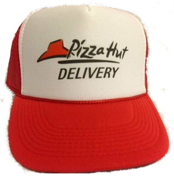 Pizza Delivery Costume Hat Easy & Quick Halloween low cost Adjustable with super fast shipping. Just add some clothes you may already have and you are all set. It is a One size fits most adjustable hat. It comes with a Quality Logo on the front . The hat is brand new. We ship ultra-fast too usually same day. We also ship worldwide. Be sure to check my Etsy store and my online store meshhatcom for 1000s of other hats, beanies, military items and more. We have been selling Hat & accesso...