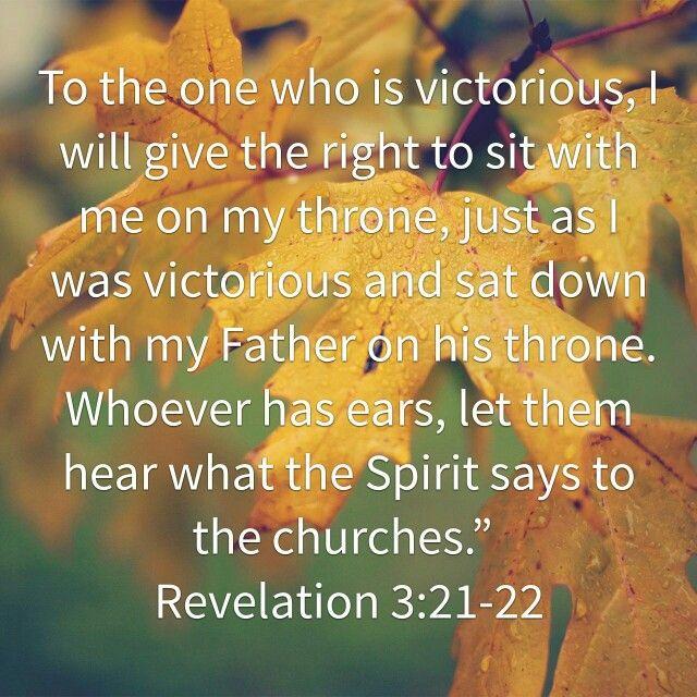 Rev 3:21-22