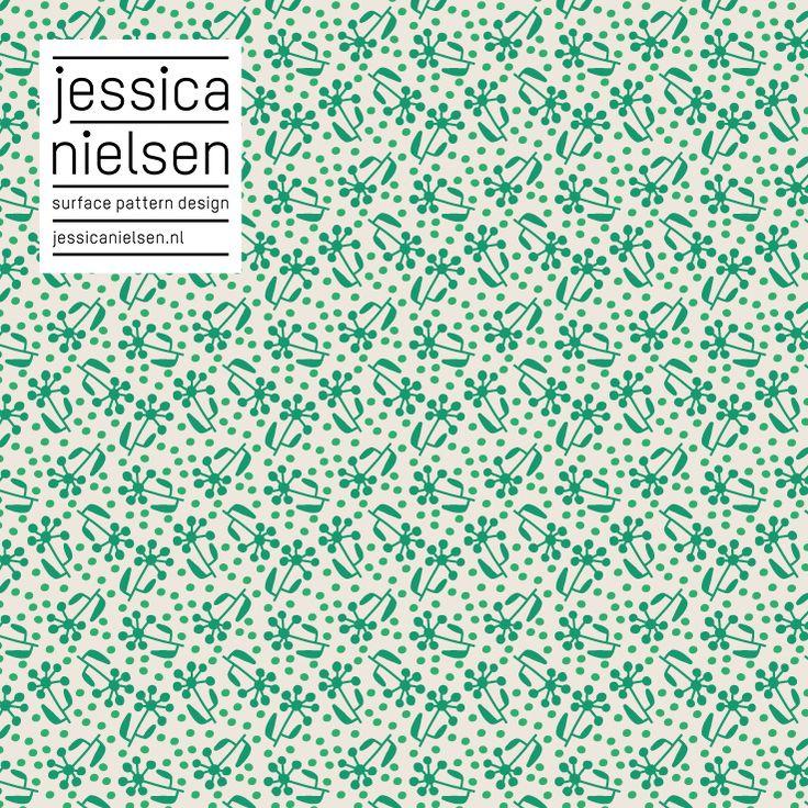 Jessica Nielsen, surface pattern design #pattern