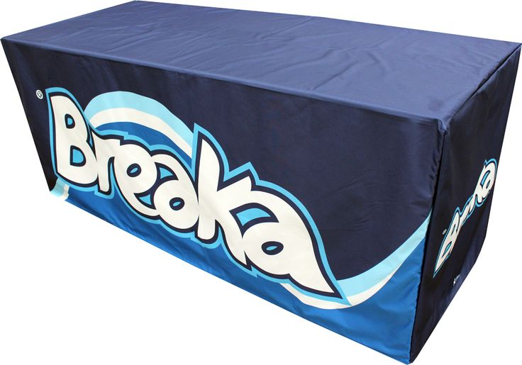 Feeling thirsty? Check out this great table cover made by Star Outdoor for Parmalat's Flavoured milk brand, Breaka. Get your own for your company's events at www.staroutdoor.com.au
