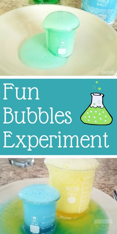 Bubbles Experiment - this is such a fun science project to help kids understand the carbonation or fizz in soda. perfect science experiment for preschool, prek, kindergarten, first grade, 2nd grade,3 rd grad, 4th grade, 5th grade, homeschool, summer science, and more.