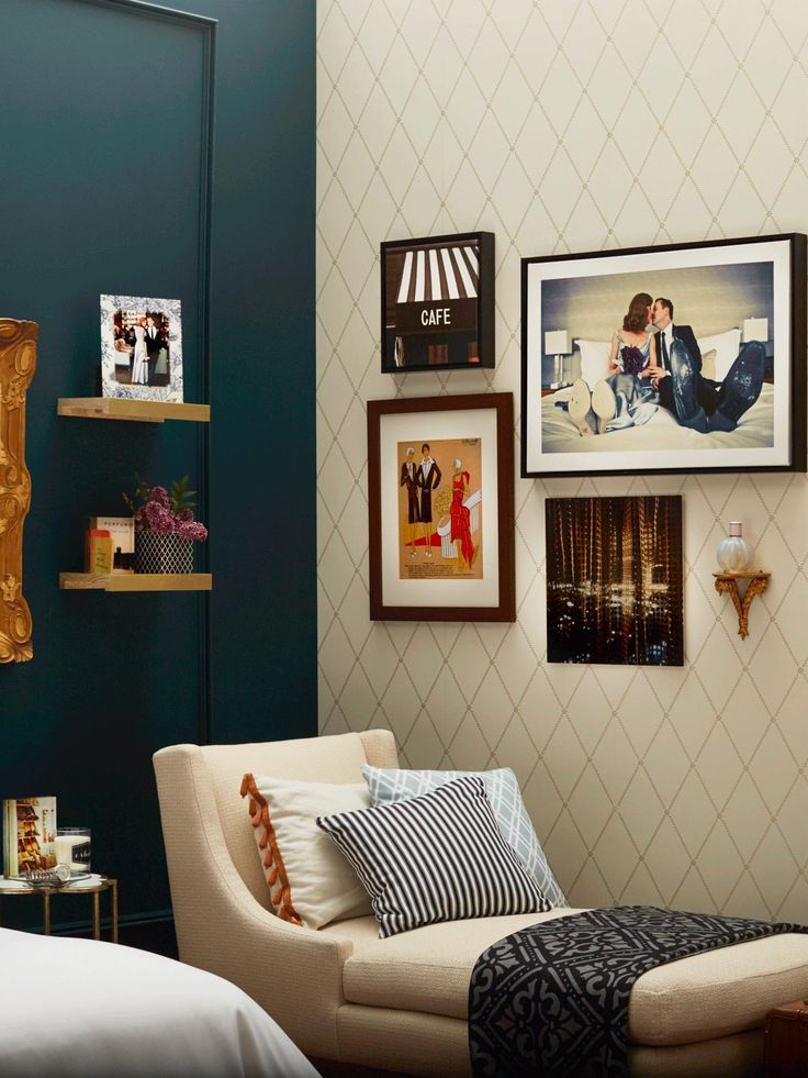 Turn your bedroom into a classic adventure with precious home accents and personalized wall art