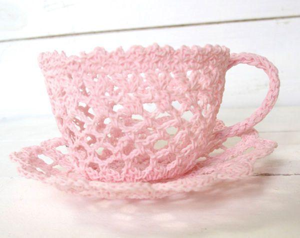Lace Tea Cups