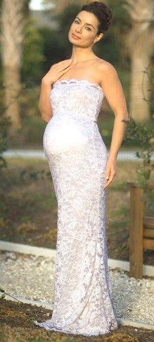 28 best Maternity Wedding Dress images on Pinterest