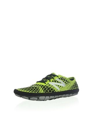 46% OFF New Balance Men's MR1 Minimus Running Shoe,Black/Green,7.5 D US