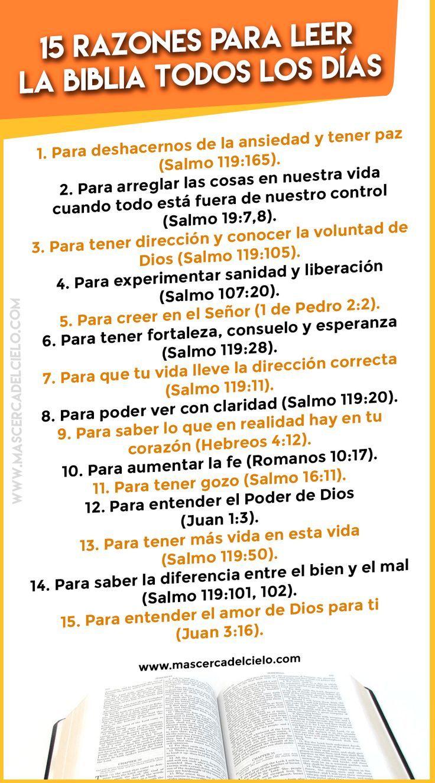 15 razones para leer la Biblia todos los días – #Biblia #días #la #leer #Los #…