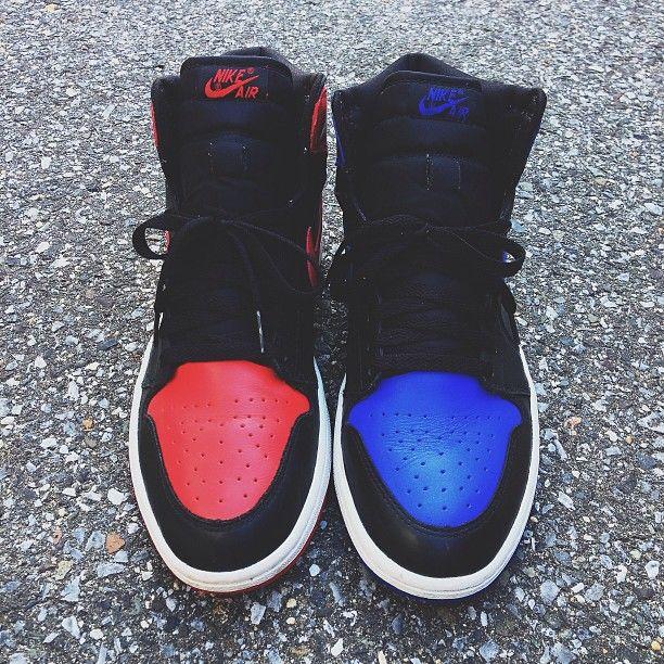 Air Jordan I...dem red one...  YESSSS!!