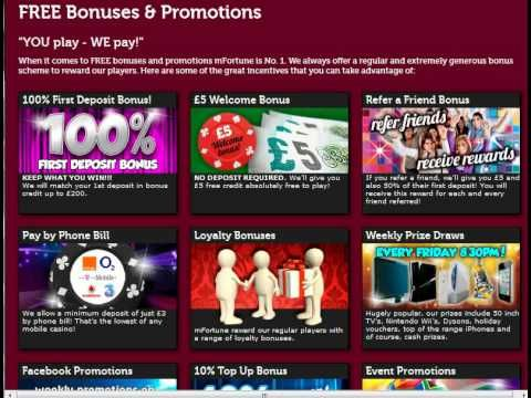 No deposit free bonus mobile slots