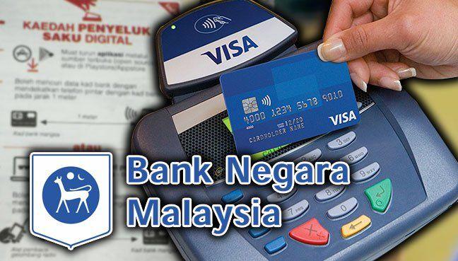 Data tak boleh dicuri Bank Negara jamin kad PayWave selamat   Bank Negara Malaysia (BNM) hari ini menegaskan kad ATM dan kad kredit yang dilengkapi ciri keselamatan baharu di bawah sistem PayWave tidak boleh diklonkan atau digunakan untuk transaksi tidak disahkan pemegang kad sendiri.  Data tak boleh dicuri Bank Negara jamin kad PayWave selamat  Sehubungan itu BNM menafikan berjuta-juta pengguna kad ATM dan kad kredit PayWave mudah terdedah kepada penyeluk saku elektronik.  BNM dalam satu…