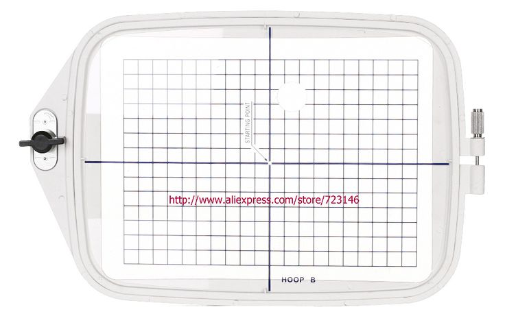 "JA802 #850801020 Embroidery Hoop 5.5""x7.92""  (140x200mm)  FOR Elna 820/8200/8300/8600 Bernina Deco 330, Deco 340"