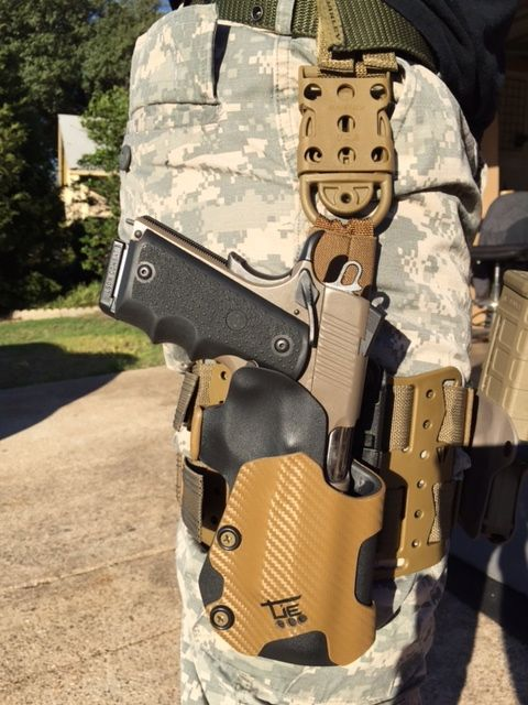 Kimber Kydex Drop Leg Holster from Tie Tactical