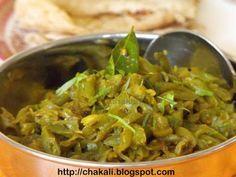 french beans curry, Indian French Beans curry, farashici Bhaji, Farasbichi Bhaji