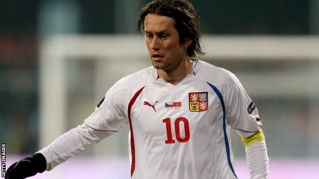 """Tomáš Rosický (1980-10-04 - )  He's a Czech international football player, who gained the nickname of """"Little Mozart.""""   He began his career with Sparta Prague at the age of eighteen. He was chosen as Czech Player of the Year. In 2000, he made his international debut in a match against the Republic of Ireland. In 2001, he switched to Borussia Dortmund, playing in the Bundesliga until 2006. Since then, Rosický has played for Arsenal FC.   #prague #praga #praha #mypraha"""