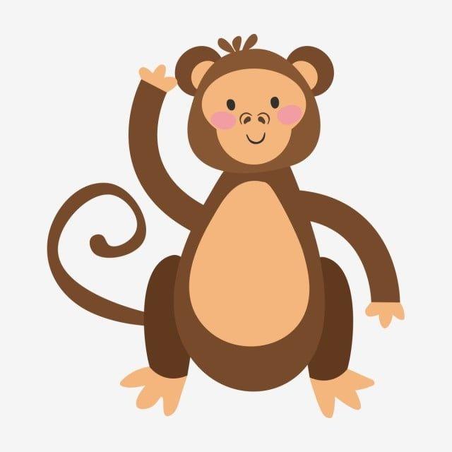 Cute Monkey Cartoon Illustration Monkey Clipart Cute Monkey Monkey Illustration Png And Vector With Transparent Background For Free Download Monkey Illustration Monkey Art Cartoon Illustration