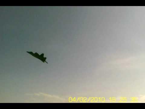 F22 fast landing