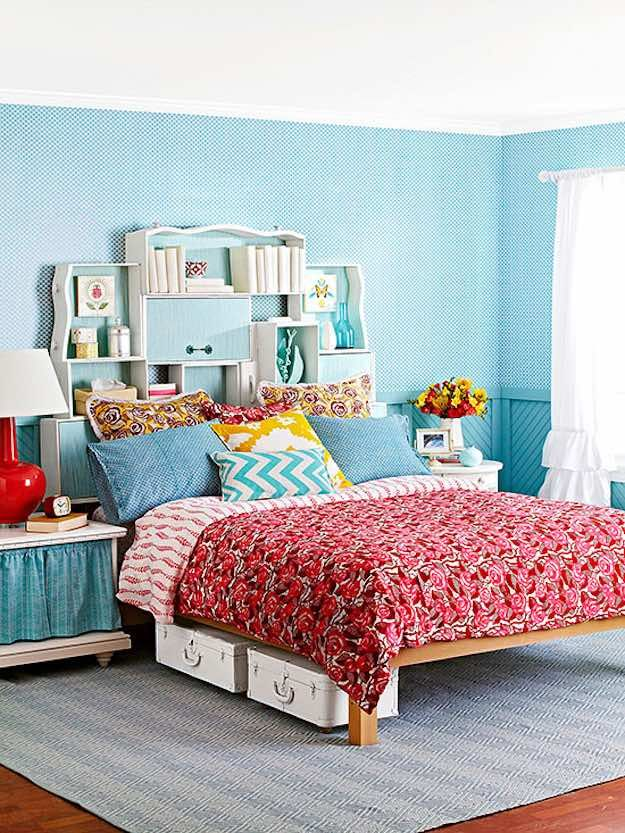 Storage Headboard | DIY Headboard Ideas to Build for Your Bed