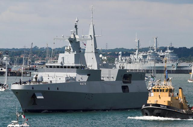 SA Navy treads water to punch above its weight