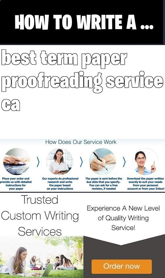 best term paper proofreading services