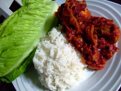 Ayam Masak Merah, or Red Chicken, is a common dish found in Malay food eateries. In general, Ayam Masak Merah is a sweetish savory dish made from tomatoes and spices. It is a dish that goes very well with rice but during the Ramadan months in the Ramadan bazaars (in Malaysia, every race celebrates every …
