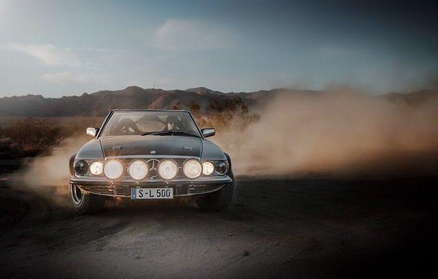 Mercedes 500SL R107 Rally Mercedes Pinterest