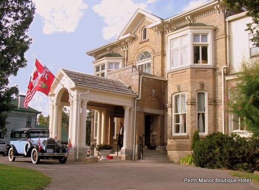 This historic Manor is now a hotel! Spend a night at Perth Manor. For more historical sites in Ontario: http://www.summerfunguide.ca/08/museums-galleries-historical-sites.html #summer #fun #ontario #castle #manor #perth