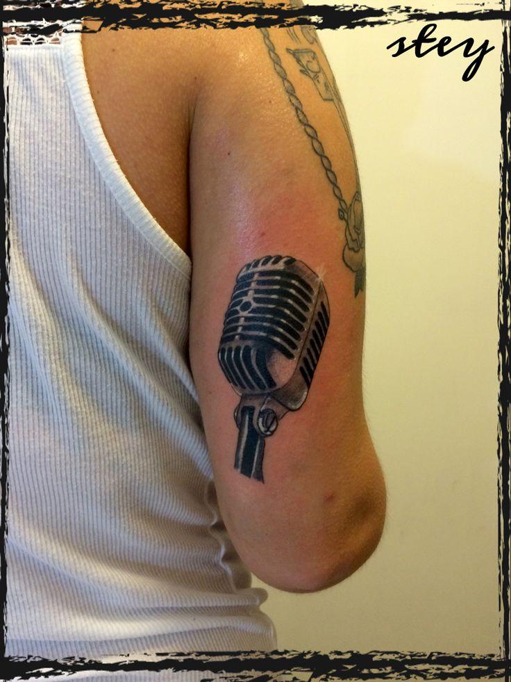 Microphone old elvis 50's microfono vintage