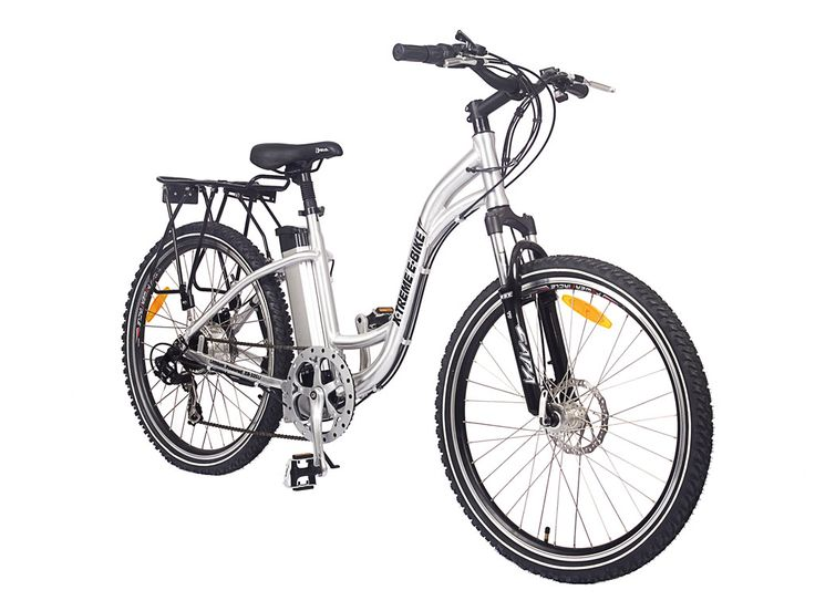 X-treme Trail Climber Electric Bike Step Through Lithium Powered Electric Bicycle