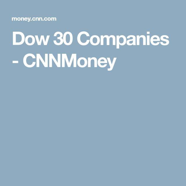 Dow 30 Companies - CNNMoney