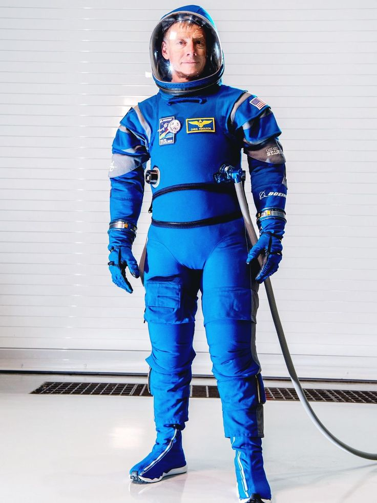 """Alan Shepard Rocketed into space in 1961 wearing a shiny silver spacesuit. Four years later, Ed White completed the first US spacewalk in a puffy white jumpsuit that made him look like the Michelin Man. In the space shuttle era, astronauts wore bright orange """"pumpkin suits."""" Effective and protective, but not terribly stylish. Boeing hopes to change that with a cobalt number called Boeing Blue.  Astronauts will wear the sleek suit as they rocket to the International Space Station aboard the…"""