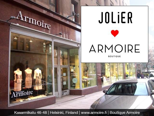 Celebrating Jolier & Boutique Armoire collaboration in the Heart of Helsinki  #city #center #fashion #style #boutique #jolier #clothing #shop #celebration #helsinki