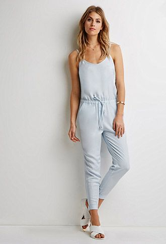 Drawstring Cami Jumpsuit | Forever 21 - 2000116243