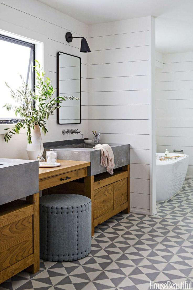 Cottage bathroom floors - 45 Eye Catching Bathroom Tile Ideas