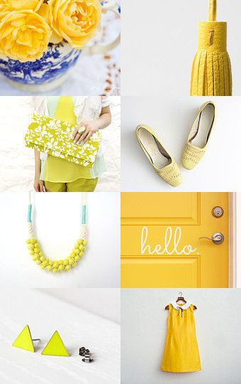 And Yellow It Is ! --Pinned with TreasuryPin.com