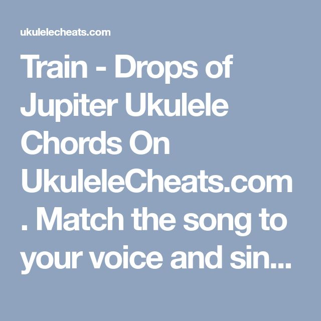 Fancy Guitar Chords For Drops Of Jupiter Frieze - Beginner Guitar ...