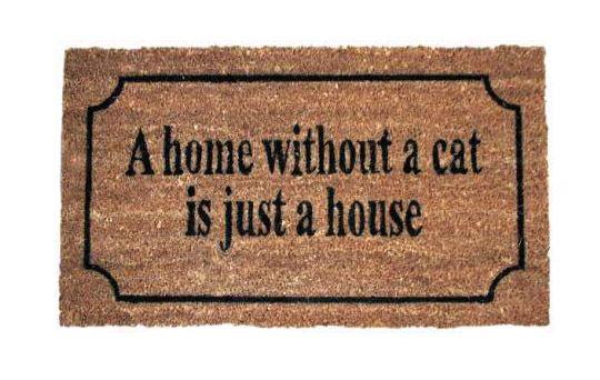 Door Mats – Doormat Cat – a unique product by MIA-home-passion on DaWanda