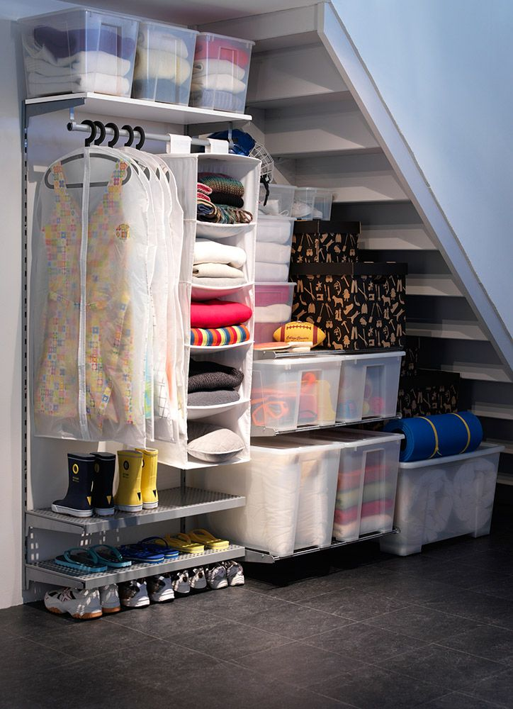 IKEA te ofrece este curso donde te enseñaremos cómo organizar los trasteros y cuartos de plancha. Somos especialistas en el almacenaje en sitios pequeños.
