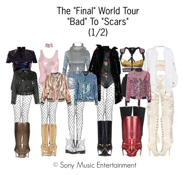 The Final World Tour 1 2 Clothes Design Faux Leather Bomber Jacket Fashion